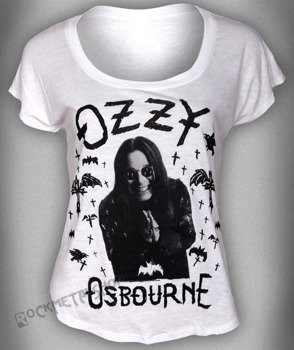 bluzka damska OZZY OSBOURNE - CROSSES BATS PHOTO DOLMAN