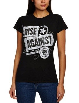 bluzka damska RISE AGAINST - PATCHED UP