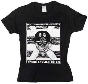 bluzka damska S.O.D. - SPEAK ENGLISH OR DIE