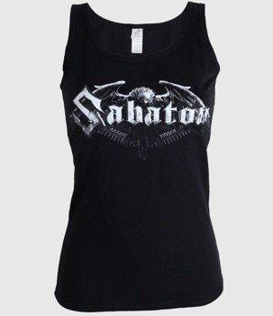 bluzka damska SABATON - EAGLE LOGO, bezrękawnik