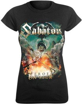 bluzka damska SABATON - HEROES ON TOUR