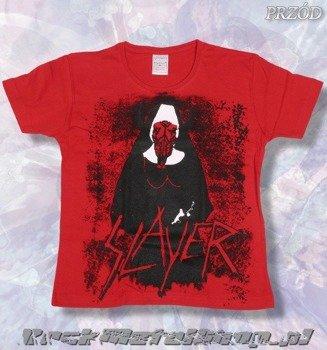 bluzka damska SLAYER czerwona