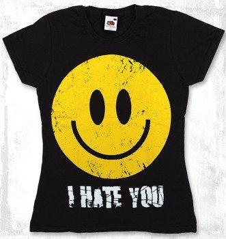 bluzka damska SMILEY - I HATE YOU