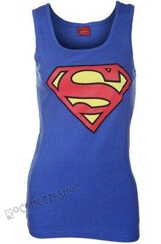 bluzka damska SUPERMAN - LOGO, na ramiączkach