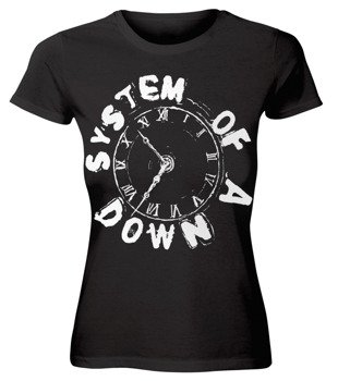 bluzka damska SYSTEM OF A DOWN - CLOCK