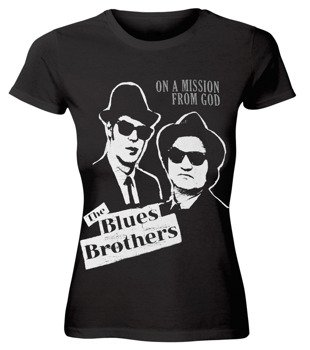 bluzka damska THE BLUES BROTHERS - ON A MISSION FROM GOD