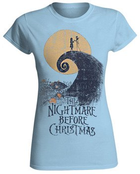 bluzka damska THE NIGHTMARE BEFORE CHRISTMAS - WAVE MOON