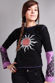 bluzka damska TRIBAL SUN długi rękaw