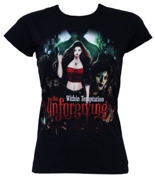 bluzka damska WITHIN TEMPTATION - BLACK THE UNFORGIVING COVER