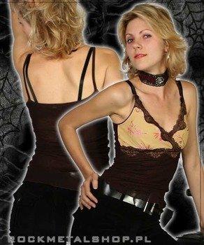 bluzka damska (brązowa)