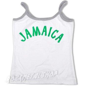 bluzka na ramiączka JAMAICA biała