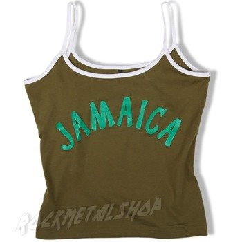 bluzka na ramiączka JAMAICA oliwkowa