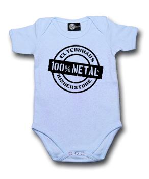 body dziecięce ELTERNHAUS: 100% METAL błękitne