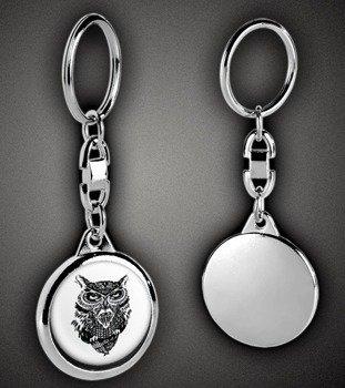brelok DIAMOND OWL
