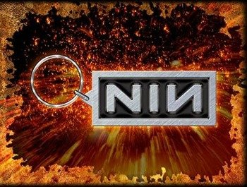 brelok NINE INCH NAILS - LOGO