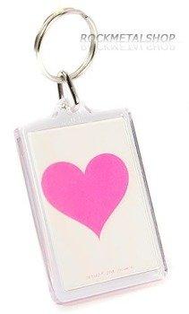 brelok do kluczy PINK HEART