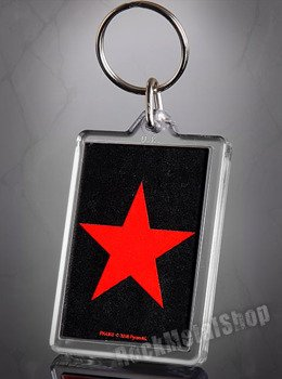 brelok do kluczy RED STAR