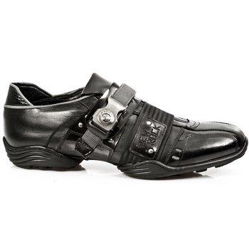buty NEW ROCK   Abs negro, Itali negro, charol stuco acero, carbono ne [8147 - S1]