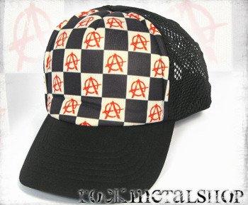 czapka ANARCHY RED
