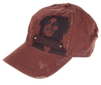 czapka BOB MARLEY - LOGO VINTAGE BROWN