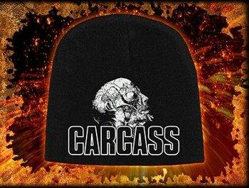 czapka CARCASS - NECRO HEAD, zimowa