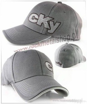 czapka CKY - Offset Grey Fitted Bioworld