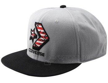 czapka CONVERSE - CONS CONTRAST CHEVRON SNAPBACK BLACK