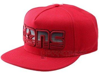 czapka CONVERSE - CONS D-F STRIPED LOGO RED