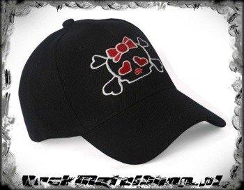 czapka GIRLY SKULL