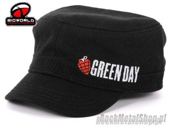 czapka GREEN DAY - Black With Embroidery Cadet
