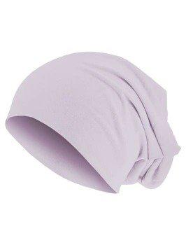 czapka MASTERDIS - PASTEL JERSEY BEANIE lavender