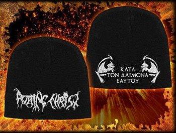 czapka ROTTING CHRIST - KATA TON DAIMONA EAYTOY, zimowa
