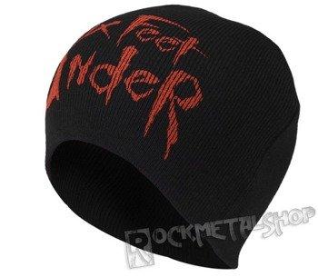 czapka SIX FEET UNDER - RED LOGO, zimowa