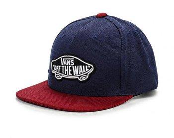czapka VANS - CLASSIC PATCH SNAP DRESS BLUE
