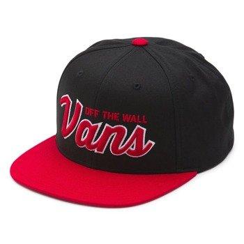 czapka VANS - WILMINGTON SNAP BLACK JESTER RED