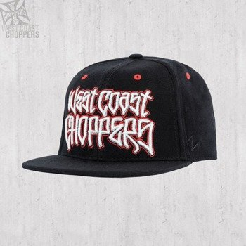 czapka WEST COAST CHOPPERS - GANGSCRIPT LOGO