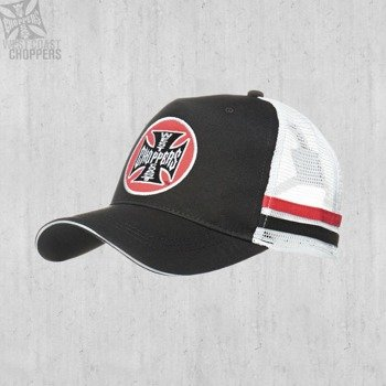 czapka WEST COAST CHOPPERS - WCC TANK LOGO TRUCKER