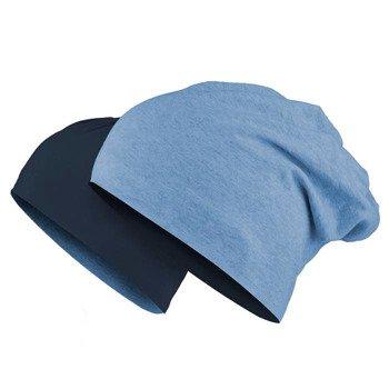 czapka dwustronna MASTERDIS - JERSEY BEANIE REVERSIBLE ht.indigo/navy