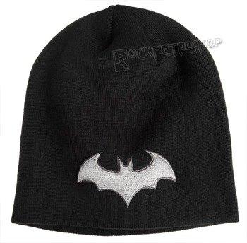 czapka zimowa BATMAN ARKHAM - CLASSIC LOGO czarna