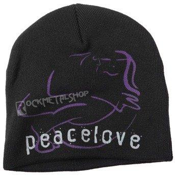 czapka zimowa JOHN LENNON - PEACE & LOVE