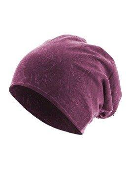czapka zimowa MASTERDIS - STONEWASHED JERSEY PURPLE