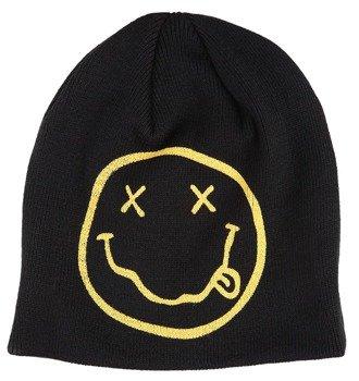 czapka zimowa NIRVANA - SMILEY