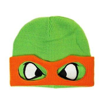 czapka zimowa RETRO TURTLES - MIKEY FACE
