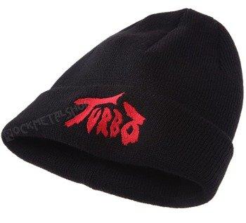 czapka zimowa TURBO - LOGO RED