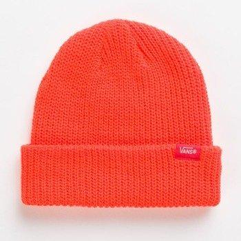 czapka zimowa VANS - CORE BASICS HUNTER ORANGE