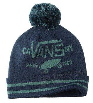 czapka zimowa VANS - FULL PATCH POM BLACK IRIS