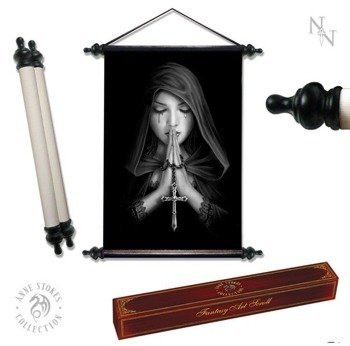 dekoracja ANNE STOKES - ART SCROLL GOTHIC PRAYER
