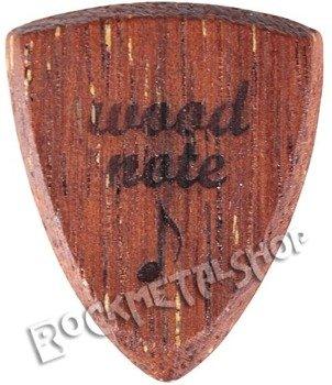 drewniana kostka do gitary WOODNOTE Bull Shield - MERBAU