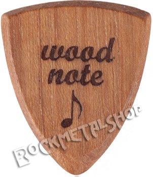 drewniana kostka do gitary WOODNOTE Bull Shield - TEAK