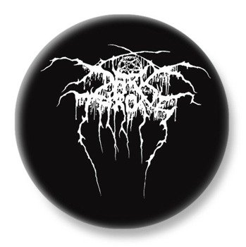 duży kapsel DARKTHRONE - LOGO